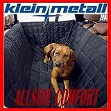 Kleinmetall Allside Comfort PREMIUM universall Autoschondecke mit Seitenschutz und Isolierung