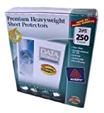 Avery Top Loading Clear Sheet Protectors, Heavyweight, 250 per Box #76006