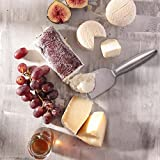 Kealive Käsemesser Set 4 Stücke Edelstahl käseschneider Praktisch Anti - Rutsch Halbzylinder Griff Design fühlt sich Ihre Hände komfortabel -