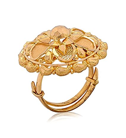 Senco Gold Aura Collection 22k Yellow Gold Ring for Women Price