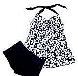 Maillot De Bain, Kolylong® 2016 Summer Swimsuit Women Swimwear Push Up Tankinis Dot Pattern Spring Fashion Ladies Swimwear (XXL, Noir)...
