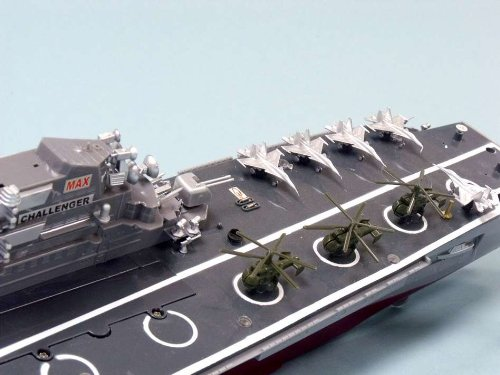 Challenger RC Aircraft Carrier Model 30 - RC Battleship - Model Ship Wood Replica - Not a Model Kit