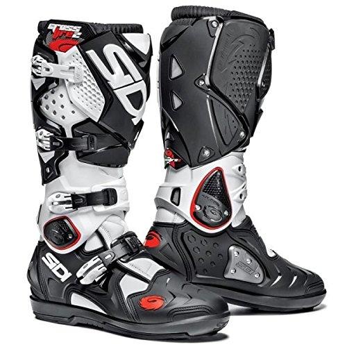 SIDI Bottes moto cross CROSSFIRE 2 SRS noir blanc