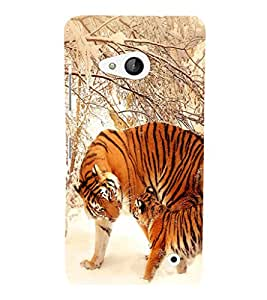 printtech Tiger Snow Strips Back Case Cover for Nokia Lumia 550::Microsoft Lumia 550