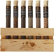 The Spice Lab BBQ Smoked Sea Salt Collection 6 Tubes Pack of 12