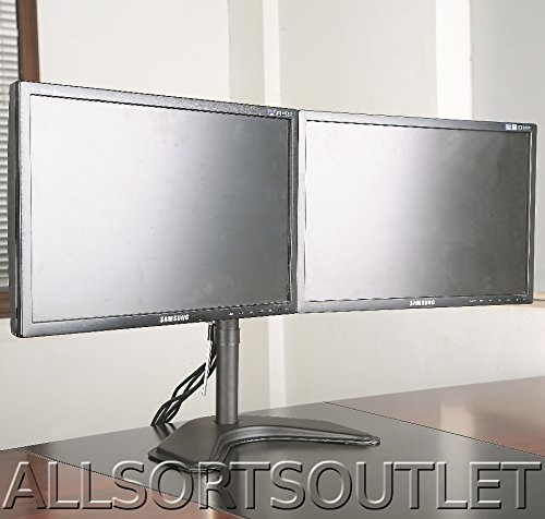 dual-double-twin-lcd-led-tft-computer-monitor-freestanding-desk-stand-mount-heavy-duty-fully-adjusta