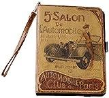 Automobile Best Deals - Hidalgo Vintage - Funda para Apple iPad mini, curpiel, diseño Salon Automobile
