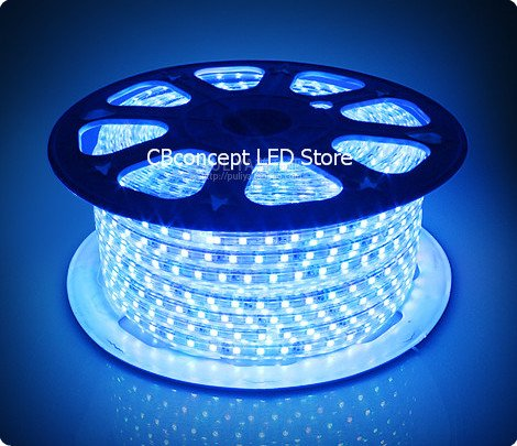 cbconcept 120vsmd5050 30 5m b 100 feet blue 120 volt high. Black Bedroom Furniture Sets. Home Design Ideas