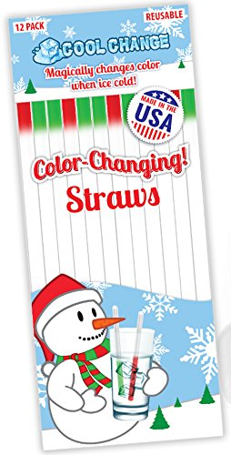 Color Change Straws - Christmas Party Favorite