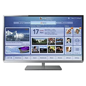 Toshiba 39L4300U 39-Inch 1080p 120Hz Smart LED HDTV (Black with Gun Metal Trim)