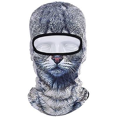 JIUSY Animal Balaclava Face Mask Breathable Outdoor Sports Motorcycle Cycling