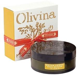 Olivina Meyer Lemon Body Butter in Signature Gift Box - 7 oz Jar by Olivina