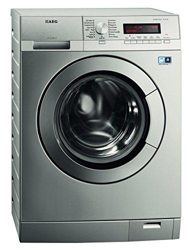 AEG L87495XFL Waschmaschine Frontlader / A+++ / 1400 UpM / 9 kg / Stainless steel with antifingerprint
