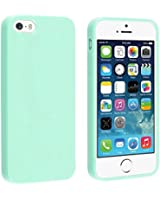 Coque iPhone 5/5S, TPU et Silicone Gel Housse pour iPhone 5/5S, Turquoise vert