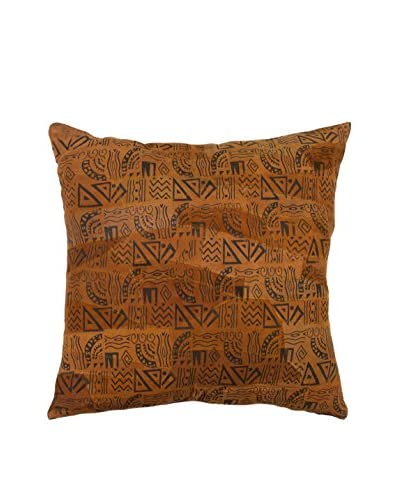 Printed African Suede Pillow
