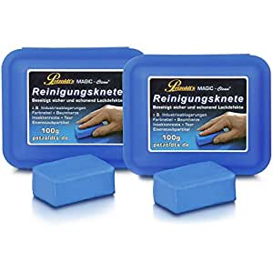 2x 100 Gramm Petzoldt's Profi-Reinigungsknete MAGIC-Clean, Blau