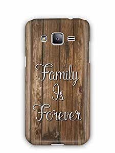 YuBingo Family is Forever Designer Mobile Case Back Cover for Samsung Galaxy J2