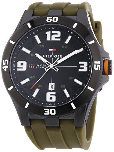 Tommy Hilfiger Watches Herren-Armbanduhr XL DREW Analog Quarz Silikon 1791065 thumbnail