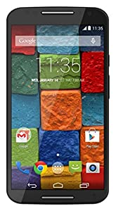 Motorola Moto X (2nd Generation) - Black Leather - 16 GB (U.S. Warranty) Unlocked Phone