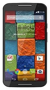 Motorola Moto X (2nd generation) Unlocked Cellphone, 16GB, Black Soft Touch