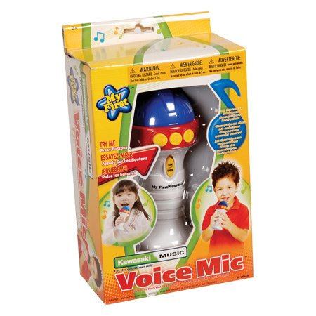 My First Kawasaki Easy Play Voice Microphone