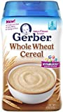 Gerber Baby Cereal Whole Wheat 8 Ounce by Gerber Baby Cereal