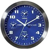WalterDrake Kincaid 4 Time Zone Wall Clock