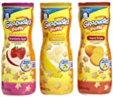 Gerber Graduates Apple Strawberry, Banana, Sweet Potato Puffs - 3 pk