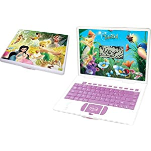 tinkerbell toys , scientific laptop