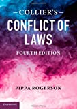 Collier's Conflict of Laws (052173505X) by Rogerson, Pippa