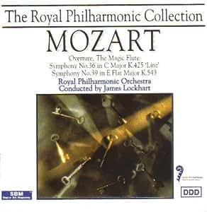 Mozart: Overture, The Magic Flute / Symphony No. 36 in C Major / Symphony No. 39 in E Flat Major