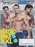 Entertainment Weekly June 26, 2015 Magic Mike XXL Matt Bomer, Channing Tatum, Joe Manganiello