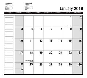 "Turner Arizona Diamondbacks 17 Month Planner, August 2015 - December 2016, 3.5 x 5"" (8890565)"