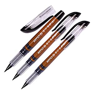 Xeno calligraphy brush pen fude pen narrow Calligraphy pen amazon