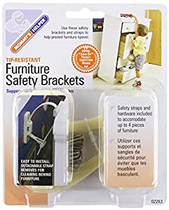 Amazon Com Mommy S Helper Tip Resistant Furniture Safety