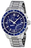 Timex Intelligent Fly Back Blue Dial Stainless Steel Mens Watch T2N501