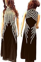 SkyheartFashion by Women's Unique design coffie Gown