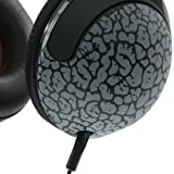Skullcandy Hesh 2 Elephant with Mic Lifestyle Wired Headphone - Gray/Hot Red