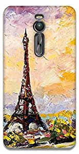 The Racoon Lean eiffel tower hard plastic printed back case / cover for Asus Zenfone 2 ZE551ML