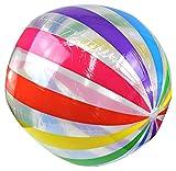 """Enimay 42"""" Jumbo Large Beach Ball Inflatable Deflatable Swimming Pool Toy"""