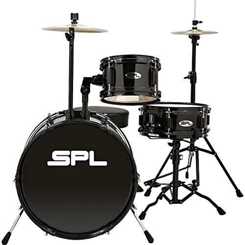 sound-percussion-labs-lil-kicker-3-piece-jr-drum-set-with-throne-black