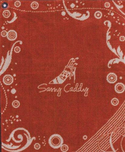 sassy-caddy-womens-golf-towel-orange-white