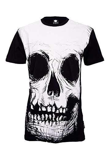 Fearless Illustration -  T-shirt - Maniche corte  - Uomo nero Large