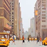 7th Avenue - New York By Barker, Jon - Fine Art Print On CANVAS : 23.5 X 23.5 Inches