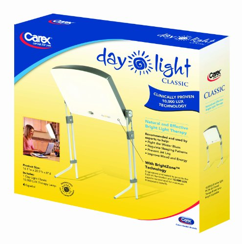 Day Light Classic 10 000 Lux Bright Light Therapy Lamp