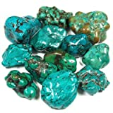 Awesomely Beautiful Tumbled Turquoise (China)-4 grams-6-8 pcs.- 1/4-1/2 inch each