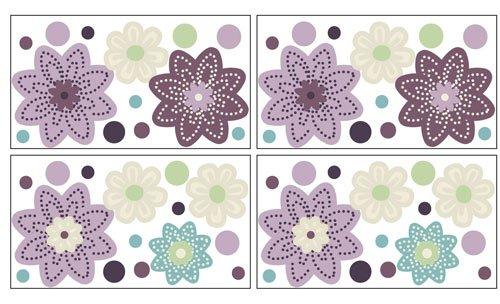 Nojo Nojo Plum Dandy Wall Decals, Purple front-782470
