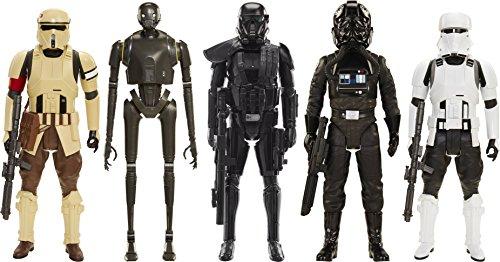 TIE Pilot, Hovertank Driver, Death Trooper, Shore Trooper, and K-2S0 20-Inch Action Figure Assortment