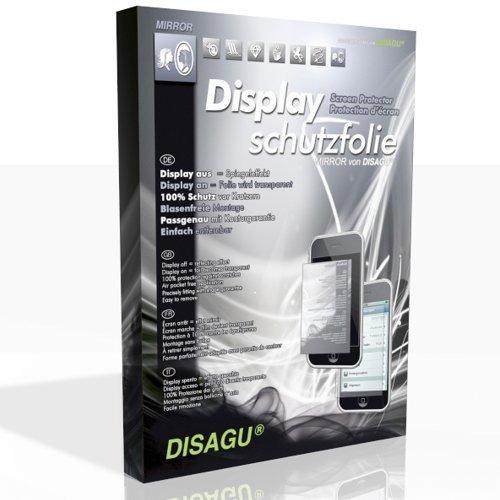 DISAGU Mirror Displayschutzfolie Displayfolie für Sony Ericsson Xperia MK16i (Spiegeleffekt / Mirror, Blasenfreie Montage, Passgenauer Zuschnitt)