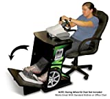 Xtension Simulation and Racing Wheel Stand (Green Graphics)